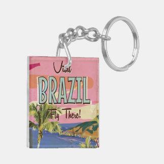 Brazil - Rio De Janeiro Keychain