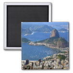 Brazil: Rio de Janeiro landscape Fridge Magnets