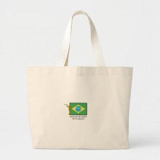 BRAZIL RIO DE JANEIRO NORTH MISSION LDS LARGE TOTE BAG