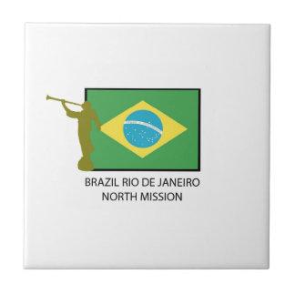 BRAZIL RIO DE JANEIRO NORTH MISSION LDS TILE