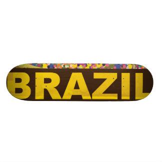Brazil - Rio De Janeiro Skateboard Deck