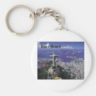 Brazil Rio De Janeiro (St.K.) Keychain