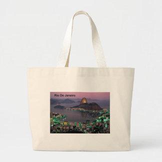 Brazil Rio De Janeiro Sugar Loaf Mountain (St.K.) Canvas Bags