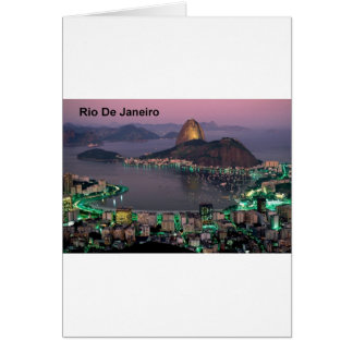 Brazil Rio De Janeiro Sugar Loaf Mountain (St.K.) Card