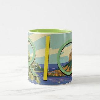 Brazil - Rio De Janeiro Two-Tone Coffee Mug