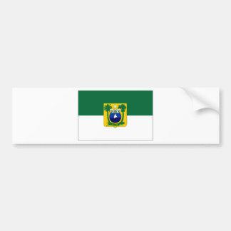 Brazil Rio Grande do Norte Flag Car Bumper Sticker