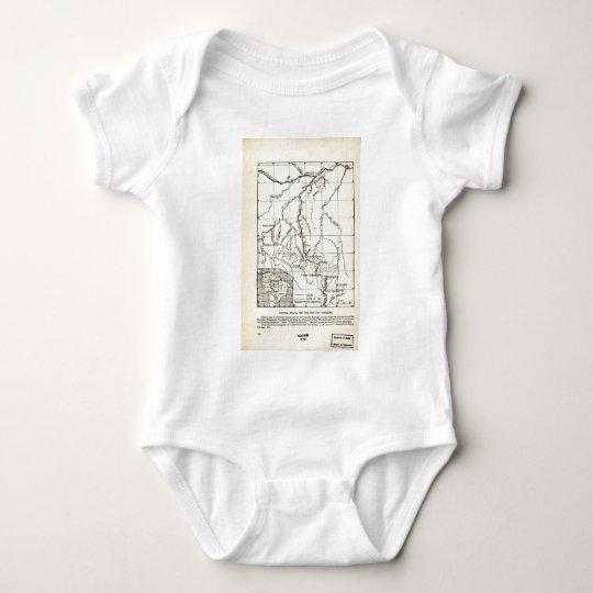 Brazil Roosevelt River. 1915 Baby Bodysuit