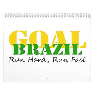 Brazil - Run Hard Run Fast Calendar