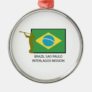 BRAZIL SAO PAULO INTERLAGOS MISSION LDS ORNAMENT