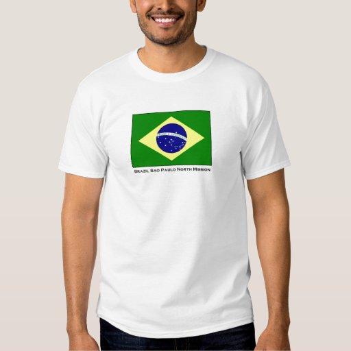 Brazil Sao Paulo North LDS Mission T-Shirt