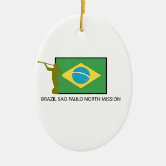 BRAZIL SAO PAULO NORTH MISSION LDS CHRISTMAS ORNAMENTS