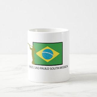 BRAZIL SAO PAULO SOUTH MISSION LDS COFFEE MUG