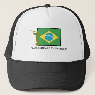 BRAZIL SAO PAULO SOUTH MISSION LDS TRUCKER HAT