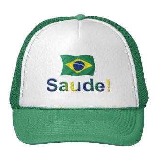 Brazil Saude! Trucker Hat