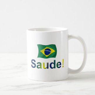 Brazil Saude! Mug