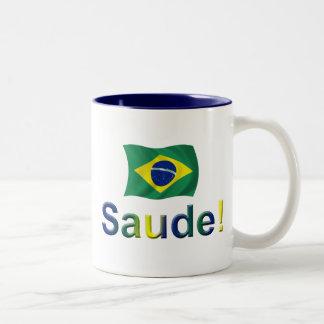 Brazil Saude! Mugs