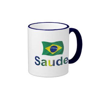 Brazil Saude! Coffee Mugs