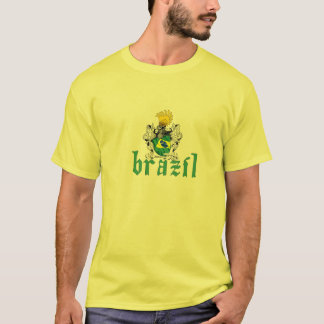 Brazil Shield 2side T-Shirt