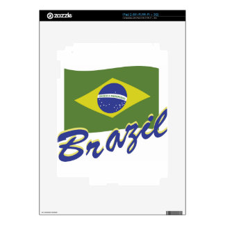 Brazil Skin For The iPad 2