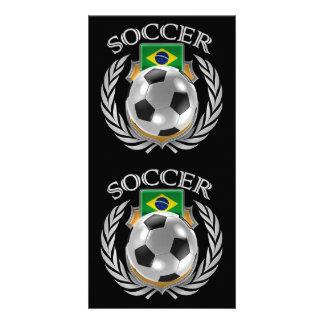 Brazil Soccer 2016 Fan Gear Card