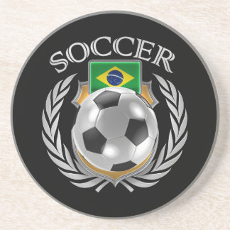 Brazil Soccer 2016 Fan Gear Coaster