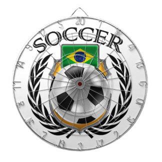 Brazil Soccer 2016 Fan Gear Dartboard