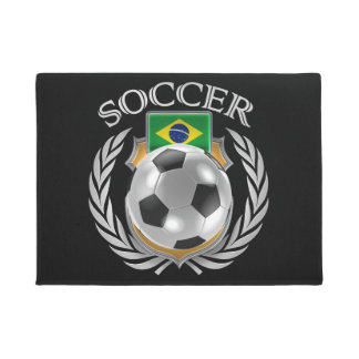 Brazil Soccer 2016 Fan Gear Doormat