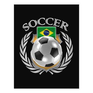Brazil Soccer 2016 Fan Gear Flyer