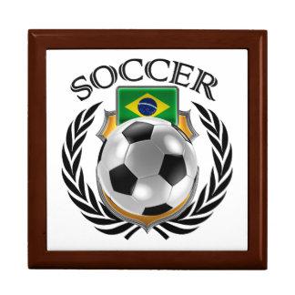 Brazil Soccer 2016 Fan Gear Keepsake Box