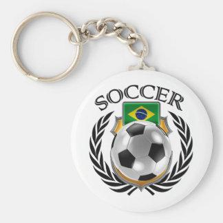 Brazil Soccer 2016 Fan Gear Keychain