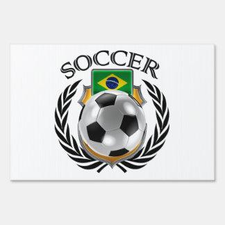 Brazil Soccer 2016 Fan Gear Lawn Sign