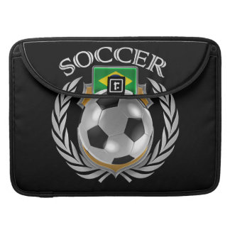 Brazil Soccer 2016 Fan Gear MacBook Pro Sleeve
