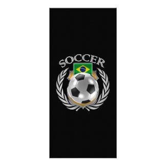 Brazil Soccer 2016 Fan Gear Rack Card