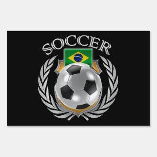 Brazil Soccer 2016 Fan Gear Sign