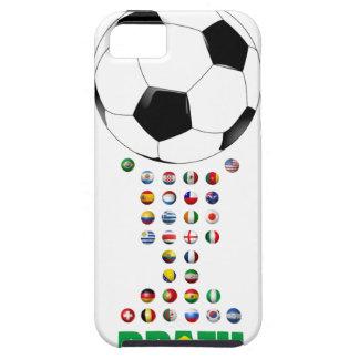 Brazil Soccer  3024 iPhone SE/5/5s Case