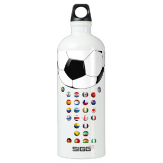 Brazil Soccer  3024 SIGG Traveler 1.0L Water Bottle