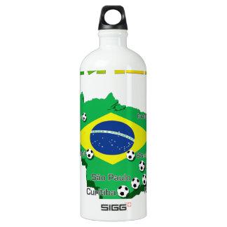 Brazil Soccer  3307 SIGG Traveler 1.0L Water Bottle