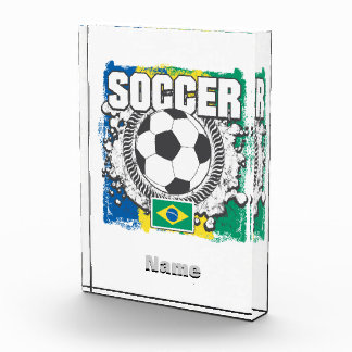 Brazil Soccer Acrylic Award