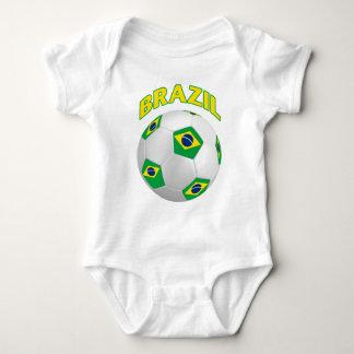 Brazil Soccer Baby Bodysuit