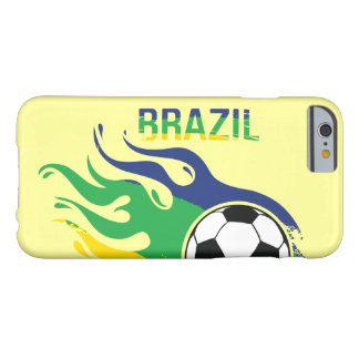 Brazil Soccer Ball Barely There iPhone 6 Case