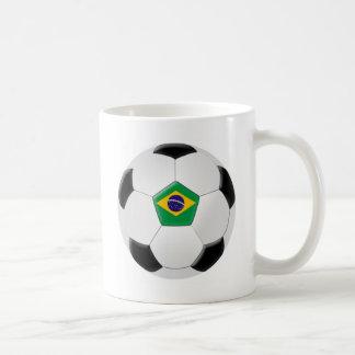 Brazil Soccer Ball Coffee Mug