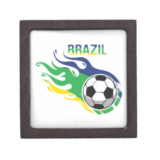 Brazil Soccer Ball Gift Box