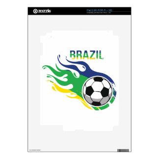 Brazil Soccer Ball iPad 2 Skin