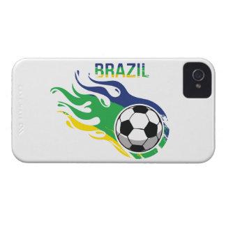 Brazil Soccer Ball iPhone 4 Cases