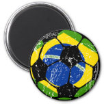 Brazil Soccer Ball Magnets