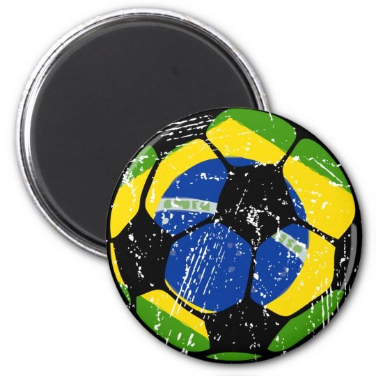 Brazil Soccer Ball Magnets