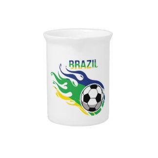 Brazil Soccer Ball Pitchers