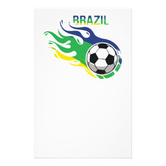 Brazil Soccer Ball Stationery