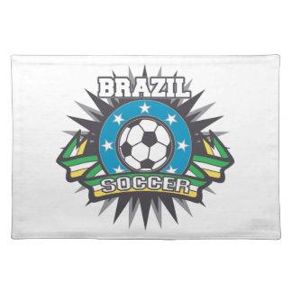 Brazil Soccer Burst Placemat