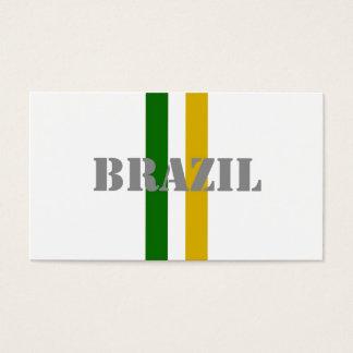 Brazil Soccer Business Card